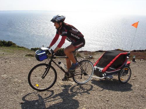 Voyager à vélo... et en famille